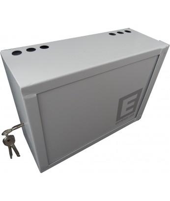 Антивандальный ящик БК-400-з1 1.2 мм сув. замок, пенал с планкой
