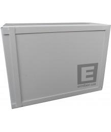 Антивандальный ящик БК-400-1 1.2 мм винт пенал