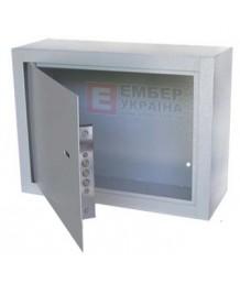 Антивандальный ящик БК-400-з-2 сув. замок, на петлях