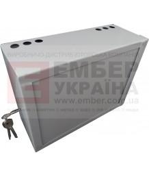 Антивандальный ящик БК-400-з1 1.2 мм сув. замок, пенал