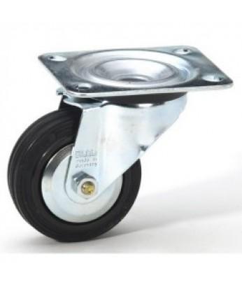 Комплект колес поворотных d - 80мм, нагрузка - 105 кг на колесо