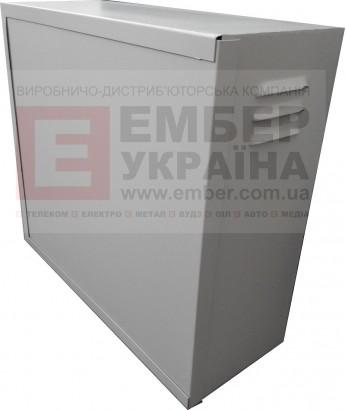 Антивандальный бокс БК-550-з-1 4U 1.5 мм пенал